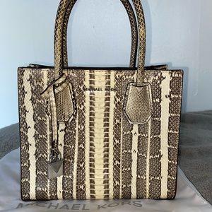 Michael Kors Genuine Snakeskin Handbag